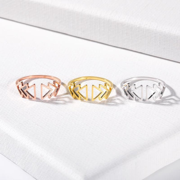 Adjustable Band Ring for women in silver gold and rose gold color (Free shipping)  Simply Bo