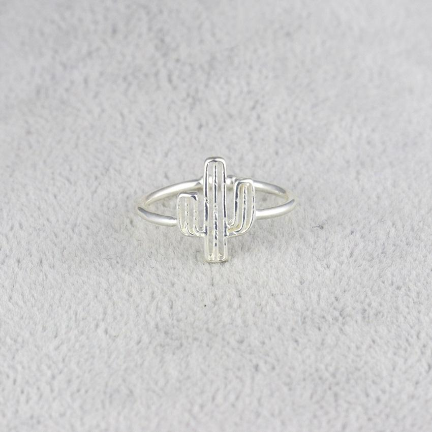 stylish Cactus Ring for women in gold rose gold and silver color (Free shipping) | Simply Bo