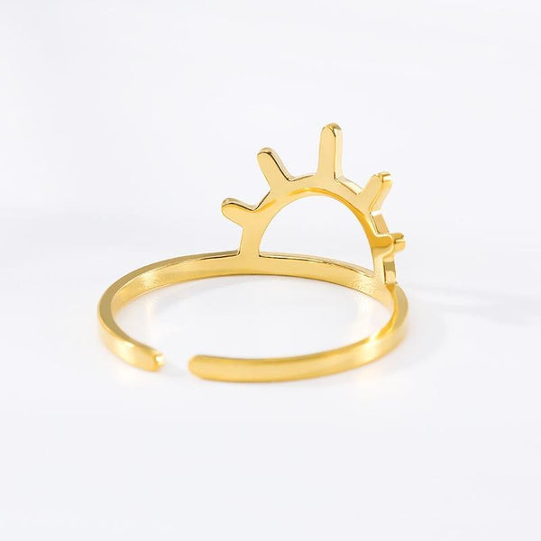 stylish Sunshine Ring for women in gold rose gold and silver color (Free shipping) | Simply Bo