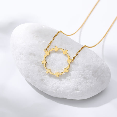 stylish Karma Necklace for women in gold rose gold and silver color (Free shipping) | Simply Bo