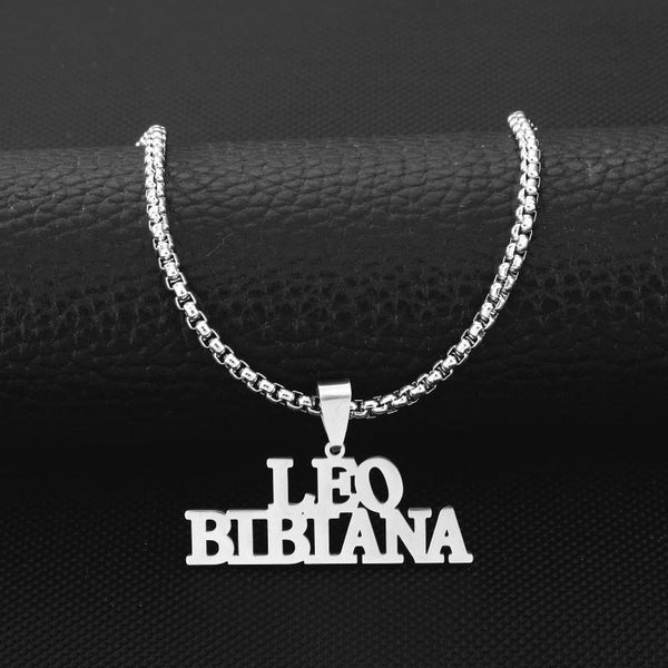 stylish Triple Bold Name Necklace for women in gold rose gold and silver color (Free shipping) | Simply Bo