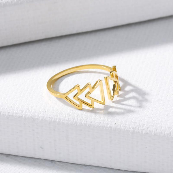 Adjustable Band Ring for women in gold color (Free shipping)  Simply Bo