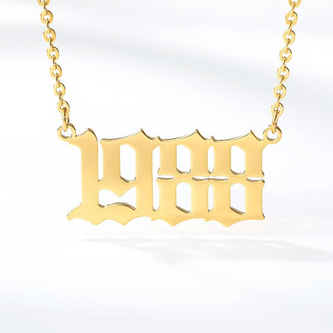 English Year Necklace (1985 to 1997)
