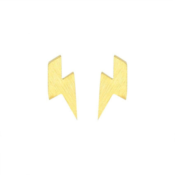 Lightning Earrings jewelry for women in gold rose gold and silver with Free shipping - Simply Bo