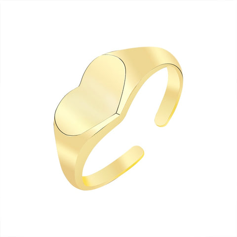 stylish Love Ring for women in gold rose gold and silver color (Free shipping) | Simply Bo