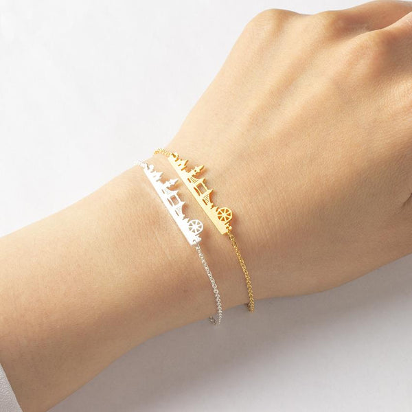 London Bridge Bracelet jewelry for women in gold rose gold and silver with Free shipping - Simply Bo