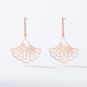 stylish Plant Earrings for women in gold rose gold and silver color (Free shipping) | Simply Bo
