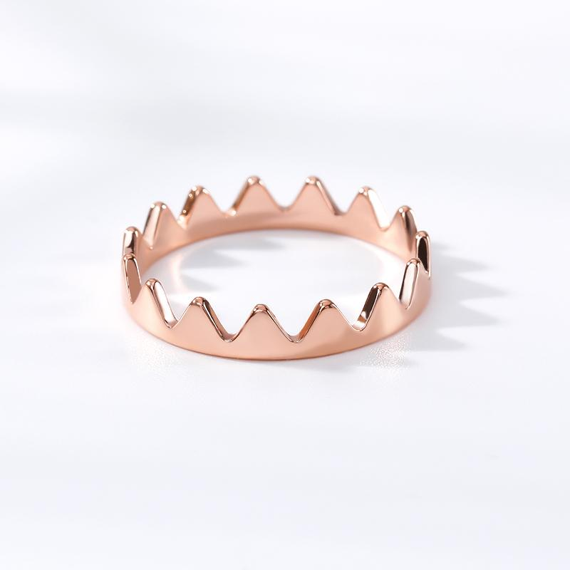 Crown Ring jewelry for women in gold rose gold and silver with Free shipping - Simply Bo