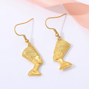 stylish Nefertiti Earrings for women in gold rose gold and silver color (Free shipping) | Simply Bo