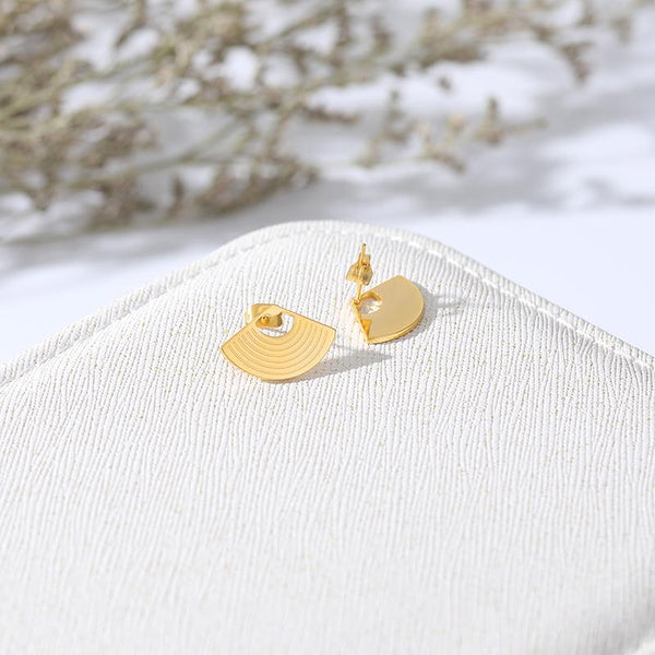 Shell Earrings jewelry for women in gold rose gold and silver with Free shipping - Simply Bo