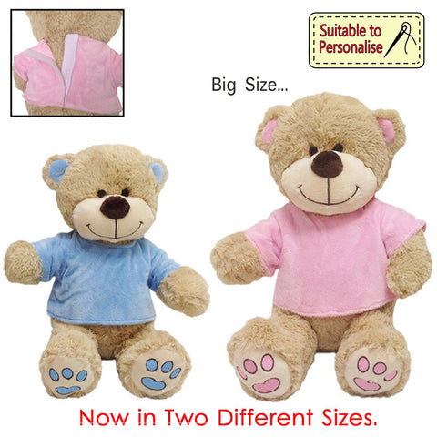 Personalised items - Baby Baby Small Teddy BB34S - Personalised Items | Sherbet Kidswear & Gifts - Kids Toys, Children's Dolls, Personalised Toys