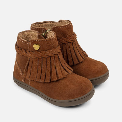Mayoral - Mayoral Fringed Booties 42720 - Footwear | Sherbet Kidswear & Gifts - Children's Clothing on Sale, Discounted Kids Apparel