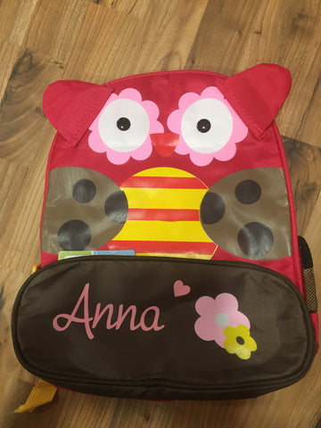 Personalised Backpack - Personalised Items | Sherbet Kidswear & Gifts - Personalised Kids Toys and Children's Stuffed Animals