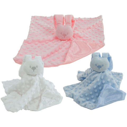 Dimple Bunny Comforter BC32 - Personalised Items | Sherbet Kidswear & Gifts - Personalised Kids Toys and Children's Stuffed Animals