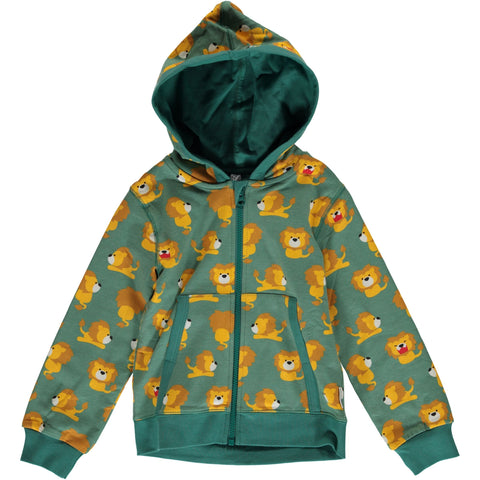 Maxomorra Cardigan Hood Lion