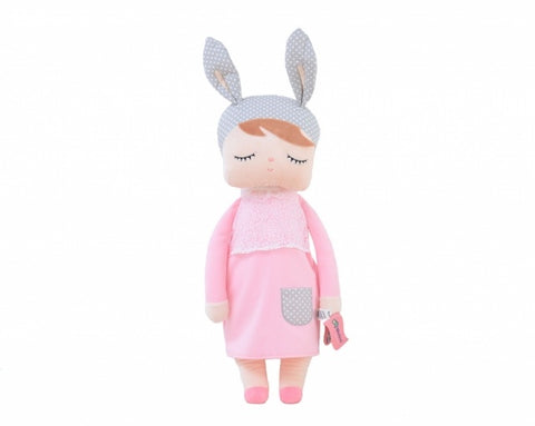 Metoo Toys - Metoo Angela Pink 70cm - Personalised Items | Sherbet Kidswear & Gifts - Kids Toys, Children's Dolls, Personalised Toys