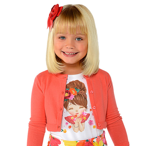 Mayoral S/S Doll T-Shirt 3008  (8-9 Years)