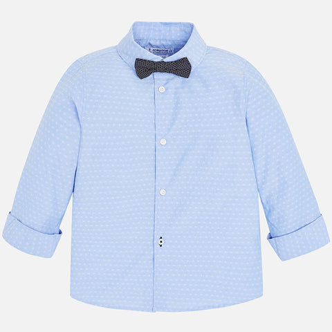 Mayoral LS Stretch Shirt 3139 Lightblue