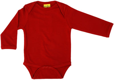 Duns Sweden - More than a Fling LS Body pompeian Red - Body | Sherbet Kidswear & Gifts - Ethical Children's Clothing and Eco-Friendly Kids Apparel