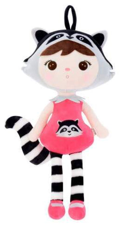 Metoo Racoon 45cm - Personalised Items | Sherbet Kidswear & Gifts - Personalised Kids Toys and Children's Stuffed Animals