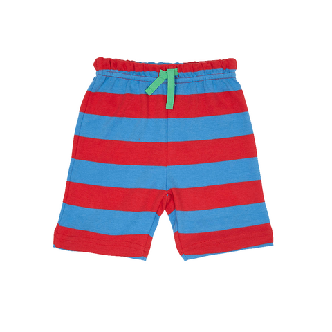 Toby Tiger Blue And Red Stripe Shorts