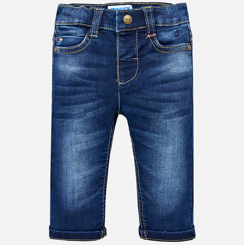 Mayoral - Mayoral Soft Denim oscuro 2550 - Denim | Sherbet Kidswear & Gifts - Ethical Children's Clothing and Eco-Friendly Kids Apparel