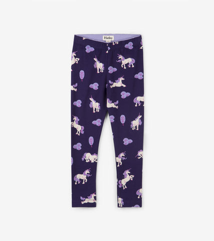 Hatley - Hatley Majestic Unicorns Leggings - Legging | Sherbet Kidswear & Gifts - Ethical Children's Clothing and Eco-Friendly Kids Apparel