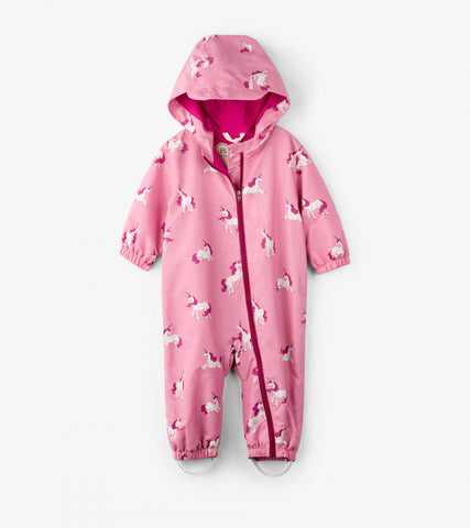 Hatley - Hatley Majestic Unicorns Microfiber Bundler - Outerwear | Sherbet Kidswear & Gifts - Children's Outerwear, Toddler Jackets, Baby Coats, for Boys and Girls 0-11 Years Old