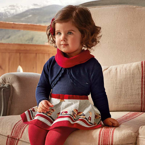 Mayoral - Mayoral Dress 2938 - Dress | Sherbet Kidswear & Gifts - Ethical Children's Clothing and Eco-Friendly Kids Apparel
