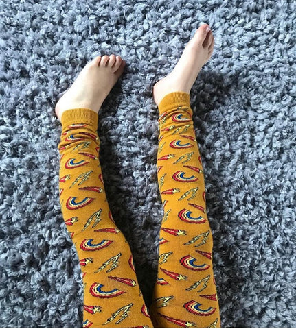 Slugs And Snails Footless Tights Retro (6-12 Months)