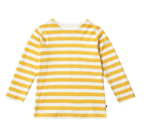 Piccalilly Mustard Stripe Top (5-6 years)