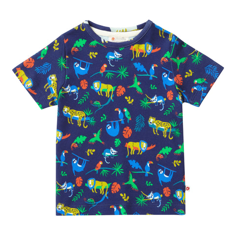 Piccalilly all over print T-Shirt Safari (6-12 Months) (12-18 Months) (18-24 Months) (3-4 Years)