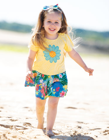 Frugi Little Laura Dress (Hothouse Floral/Flower)