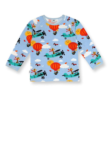 JNY LS T-Shirt Airplay (12- 18 Months) (6-7 years) (7-8 Years)