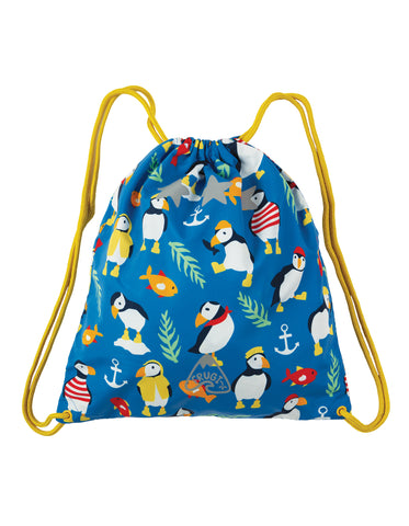 Ready Steady Go Bag (Sail Blue Paddling Puffins)
