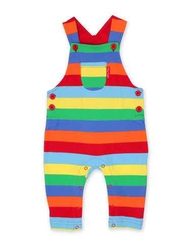 Toby Tiger Multi Stripe Dungaree (6-12 Months)