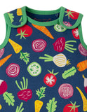 Frugi Kneepatch Dungaree (Homegrown)