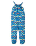 Frugi Jay Jumpsuit (Flower Farm) (2-3 Years) (3-4 Years) (9-10 Years)