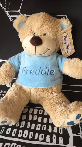 Personalised items - Baby Baby Large Teddy Bb34m - Personalised Items | Sherbet Kidswear & Gifts - Kids Toys, Children's Dolls, Personalised Toys