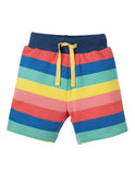 Frugi Little Sydney Shorts (Bright rainbow Stripe) (6-12 Months) (12-18 Months) (18-24 Months)