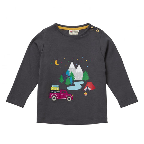 Piccalilly Happy Campers LS Top (6-12 Months)