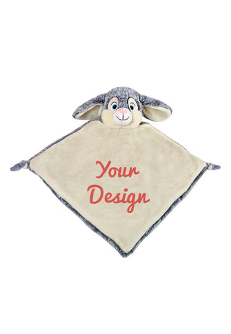Cubbies - Blankie Bunny Cubbie - Personalised Items | Sherbet Kidswear & Gifts - Kids Toys, Children's Dolls, Personalised Toys