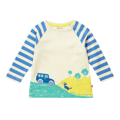 Piccalilly Raglan Top Stackhouse