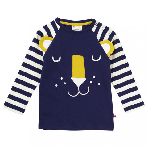 Piccalilly Hello Tiger Raglan Top (12-18 Months)