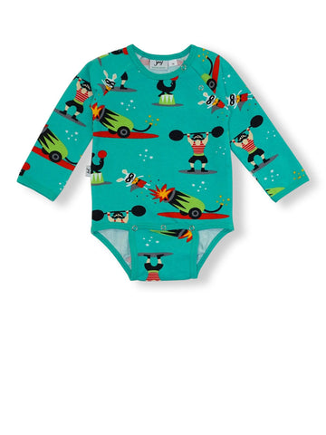JNY LS Body Super Rabbit (2-4 Months) (4-6 Months) (6-9 Months)