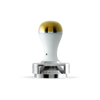 Tamper w/ Depth Adjuster - White & Gold