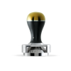 Tamper w/ Depth Adjuster - Black & Gold