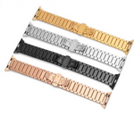 STRIPE Stainless Steel Band Link Bracelet for 38/40/42/44mm Apple Watch 5 4 3 2 1