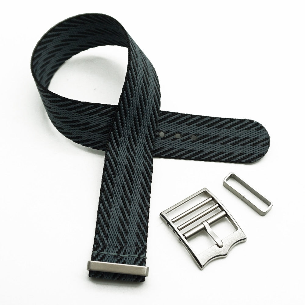 EMPEROR 20mm 22mm Special Nylon Watch Band Strap For Tudor Black Bay Rolex