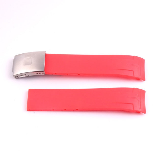 COUTURIER 22/23/24mm Flex Rubber Waterproof Watch Band Strap For Tissot T035 .407 .439 .617
